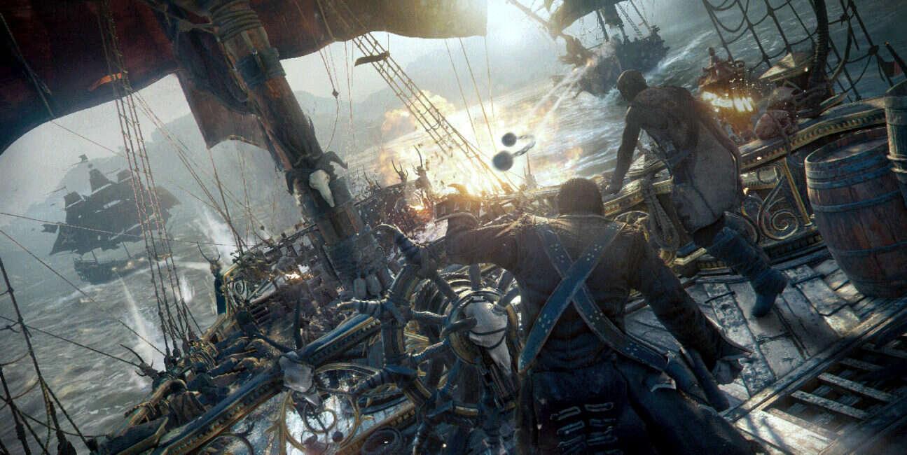 Skull and Bones, piraci, Ubisoft, zapowiedź, premiera, zwiastun, gameplay, PS4, Xbox One, PC, walki morskie, E3 2018