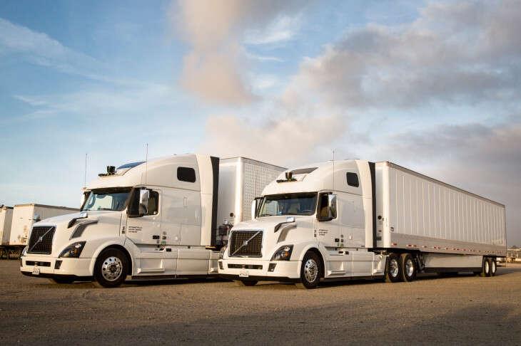 autonomicznych ciężarówek