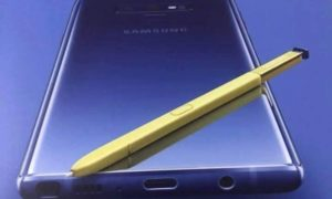 Tu obejrzycie stream z premiery Galaxy Note 9