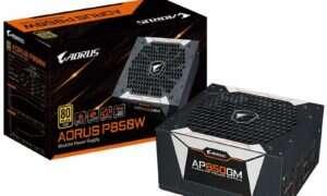 AORUS prezentuje nowe zasilacze P750W i P850W