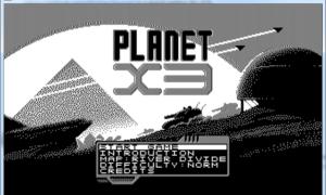 Gra Planet X3 na MS-DOS z sukcesem na Kickstarterze