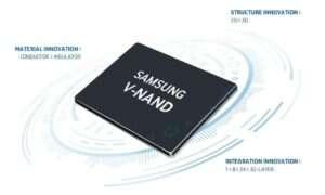 Samsung rozpoczął produkcję 256 Gb kości V-NAND 5. gen