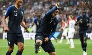 Emotka z Fortnite na… finale Mistrzostw świata piłki nożnej