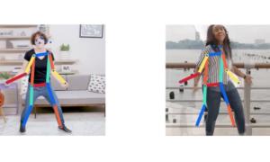 Move Mirror, czyli pokaz możliwości SI od Google