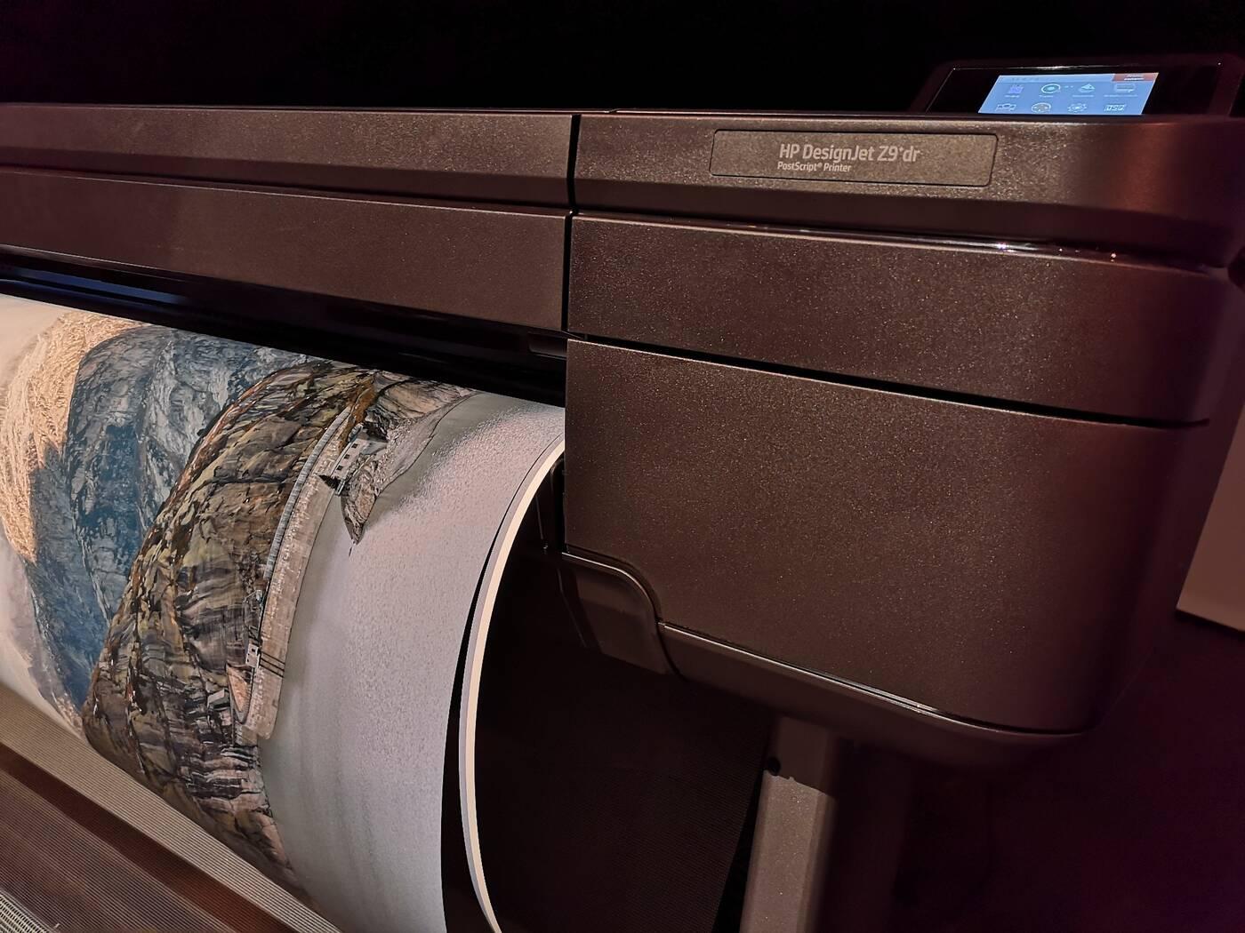 DesignJet drukowanie