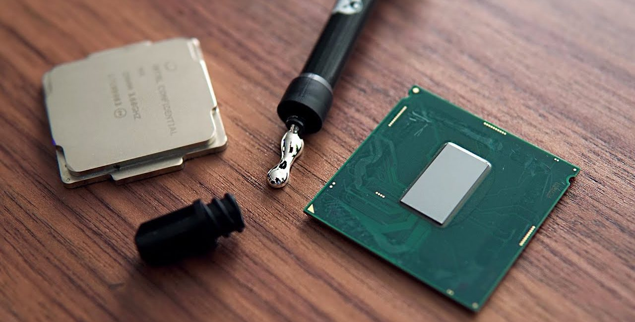 ciepła, Intel, Intel Core, IHS, lutowany IHS, glut, Intel Core i9-9900K, rozpraszacz ciepła, lutowany rozpraszacz, procesory, CPU,