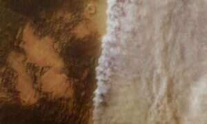 Niemal cały pył na Marsie pochodzi z jednej formacji skalnej