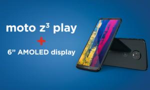 Motorola prezentuje Moto Z3 Play