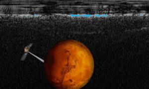 Pod powierzchnią Marsa znajduje się jezioro ciekłej wody!