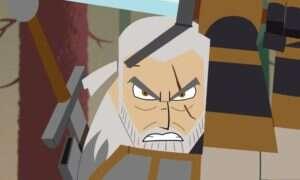 Geralt i gryf – ta animacja nie mogła się nie udać