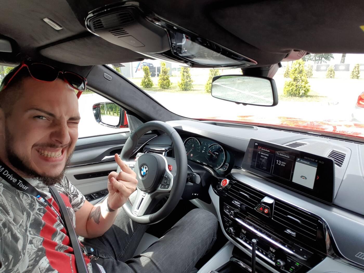 Test BMW M5 i BMW M2 - prawdziwe cuda techniki 009