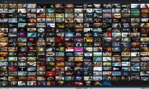 1000 najchętniej granych gier w serwisie Steam