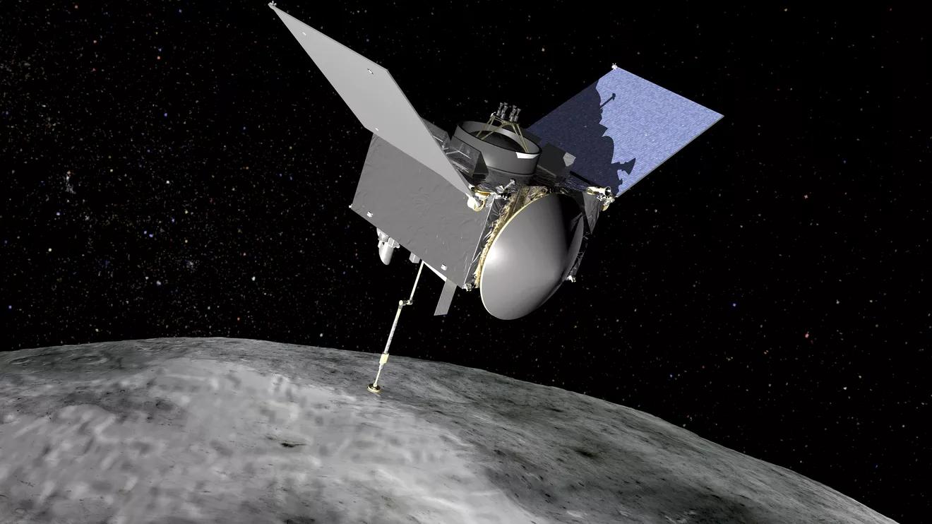 Statek kosmiczny NASA śledzi asteroidę Bennu