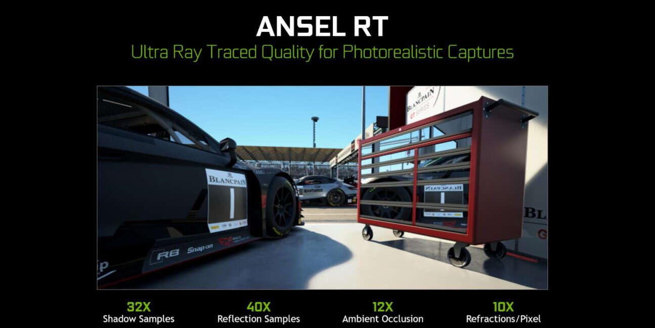 Nvidia, RTX, aplikacja, oprogramowanie, Nvidia RTX, Ansel RT, Ansel RTX, Ansel