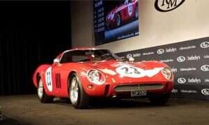 Ferrari 250 GTO ustanowiło nowy rekord na aukcji