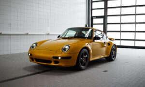 Reinkarnacja 911 Turbo S typ 993 dzięki Porsche Classic