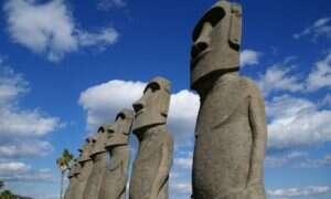 Cywilizacja na Wyspie Wielkanocnej nie upadła na skutek walk