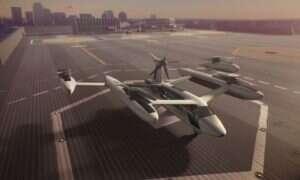 Uber pracuje nad latającymi taksówkami UberAIR z militarnym laboratorium USA