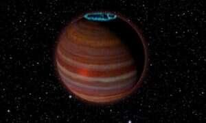 Ta gigantyczna planeta emituje sygnał radiowy zorzy polarnej