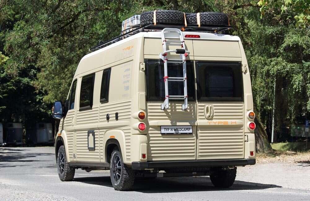 Jumpy, Type H WildCamp, Type H, WildCamp, Citroen, samochód, van,