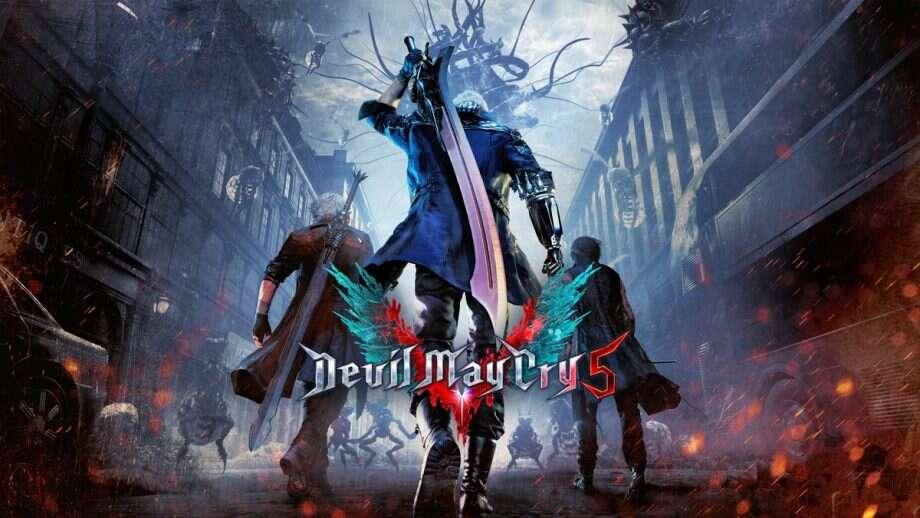 Devil May Cry 5, Devil May Cry, DMC, trailer, gameplay, pokaz, gra, rozgrywka, materiał, data premiery, debiut, premiera