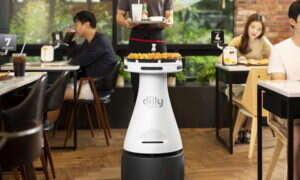 Dilly Plate, czyli robot w personelu Pizza Hut