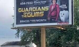 Guardian of the Gums, czyli jak z popkultury zrobić reklamę salonu dentystycznego