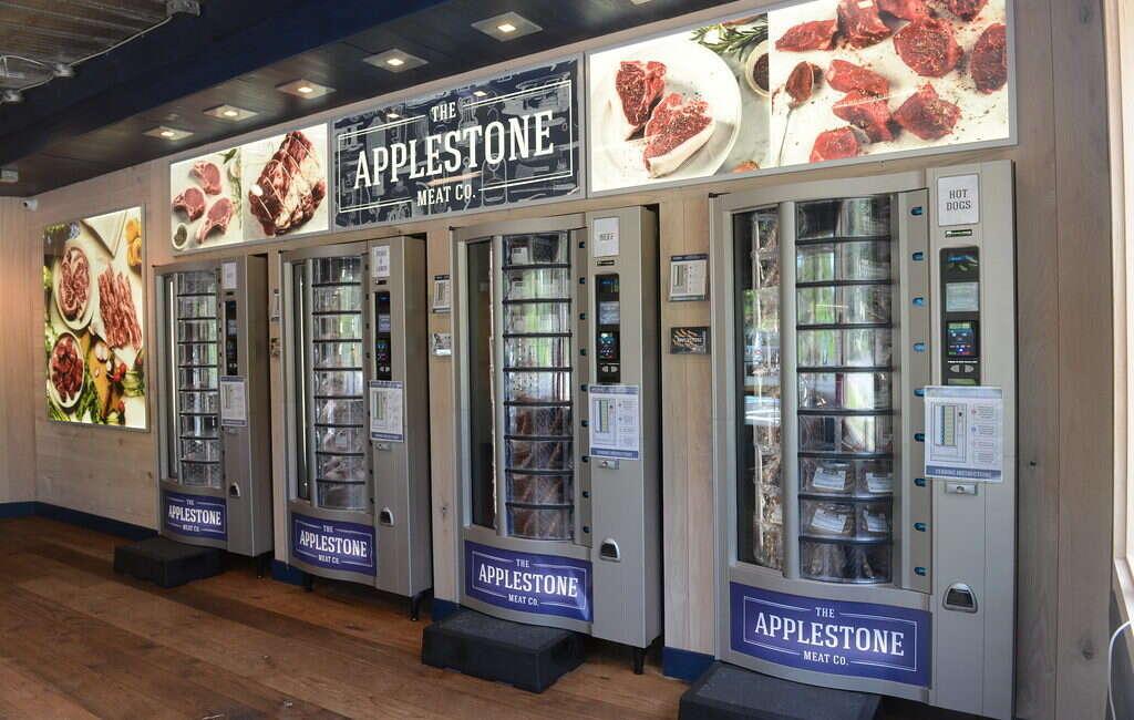 Applestone Meat, mięso, Applestone, Nowy Jork, automaty, automat z mięsem, mięso, butcher, s