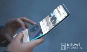 Pierwsze rendery zginanego smartfona od Samsunga