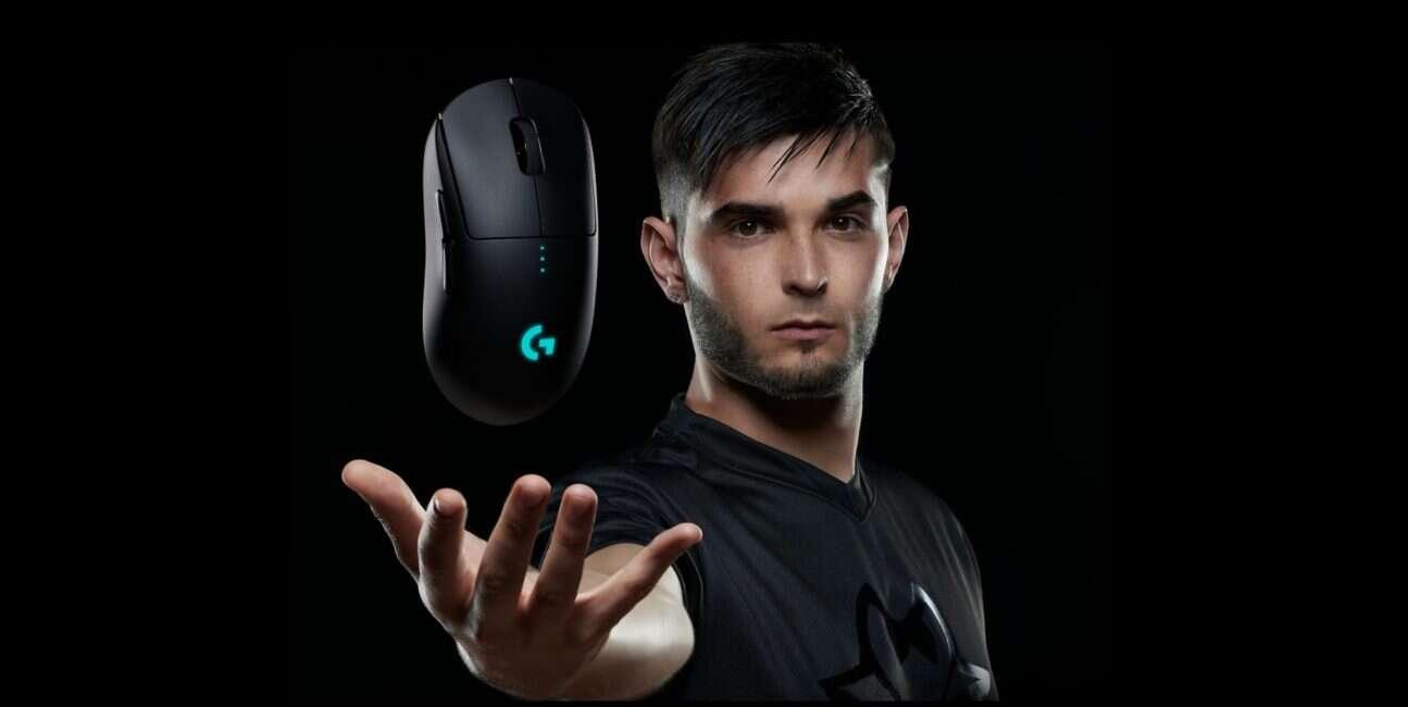 G Pro Wireless, Logitech, myszka, mysz bezprzwodowa, G Pro, Pro, Wireless, Logitech G Pro Wireless,