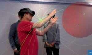 HoloLens są dla tego nauczyciela nieodzownym elementem zajęć matematyki