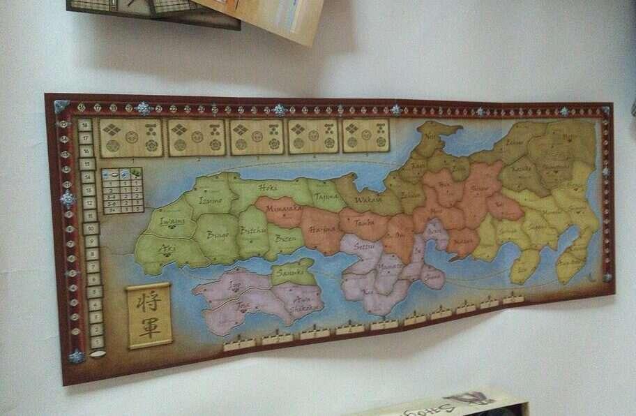 Szogun mapa