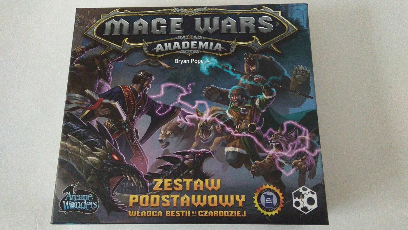Mage Wars: Akademia pudło