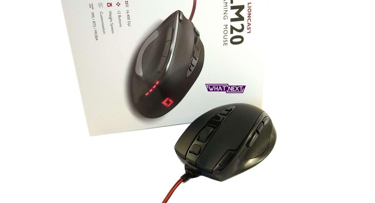 mysz, Lioncast, LM, LM20. Lioncast LM20, myszka, sensor laserowy, avago 9800, test, recenzja, wrażenia, opinia, czy warto, cena, specyfikacja, ocena