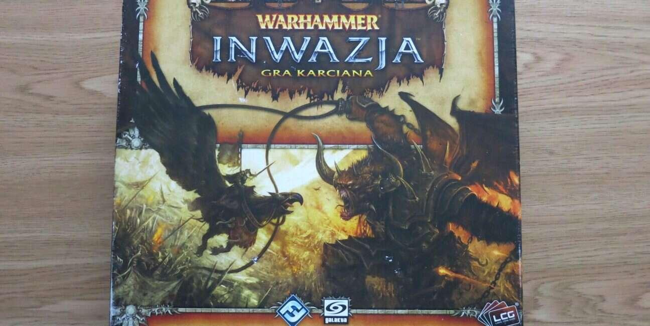 Warhammer Inwazja pudło
