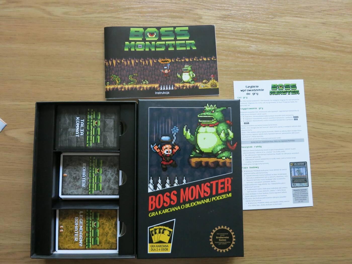 Boss Monster pudło