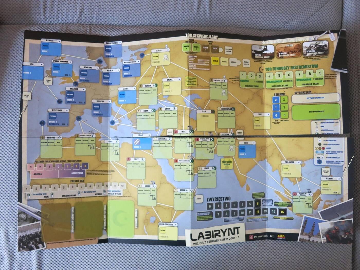 Labirynt mapa