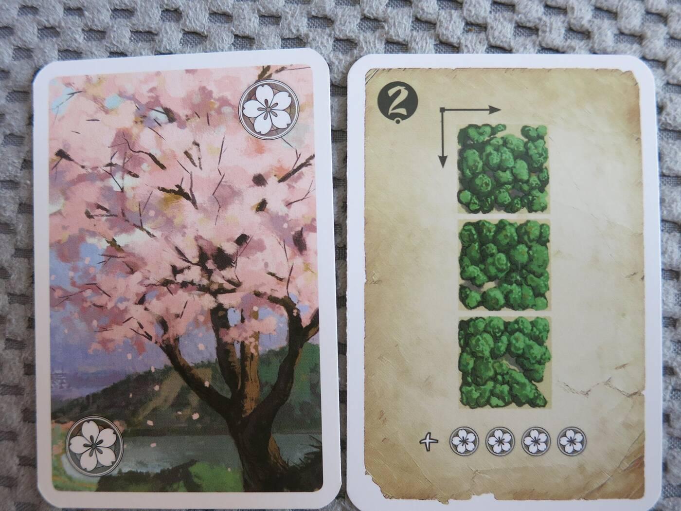 Wyspa Kwitnącej Wiśni karty