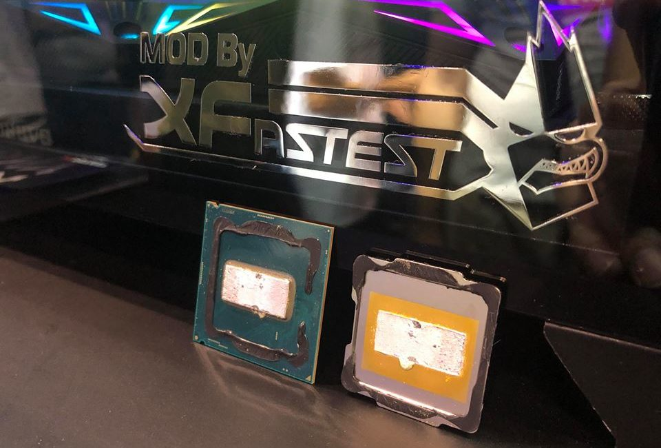 Intel, CPU, procesor, Intel Core, i9-9900K, i7-9700K, IHS, odpromiennik ciepła, Sandy Bridge