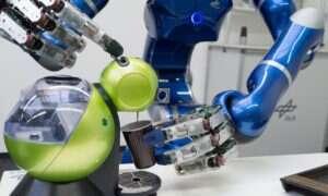 Astronauta przebywający na ISS sterował humanoidalnym robotem znajdującym się na Ziemi