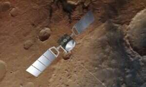Odczyty z radarów pokazują jezioro na Marsie
