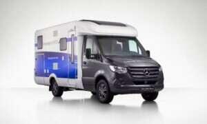 """Mercedes zaprezentował """"campera przyszłości"""" Sprinter F-Cell"""