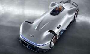 Mercedes EQ Silver Arrow, czyli kiedy historia spotyka nowoczesność