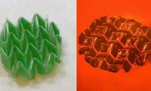 Opracowano materiał zmieniający kształt w zależności od padającego światła