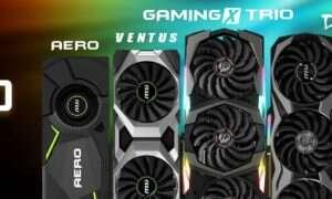 MSI zaprezentowała pierwsze autorskie karty GeForce RTX