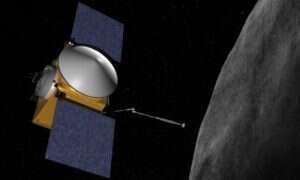 Po dwóch latach sonda OSIRIS-REx zbliżyła się do planetoidy Bennu