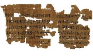 Starożytne papirusy ujawniają wiele informacji o Egipskiej medycynie