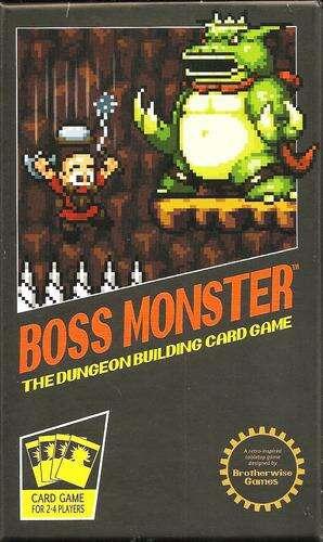 Boss Monster tło