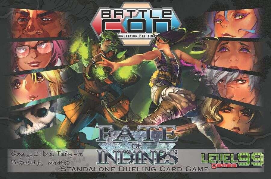 BattleCON tło