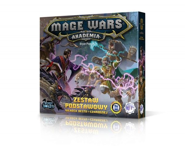 Mage Wars: Akademia tło